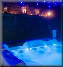 erotische Ferienwohnung - Whirlpool für zwei